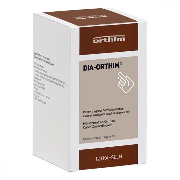 德国Dia-Orthim 苦瓜降血糖肉桂姜精华胶囊