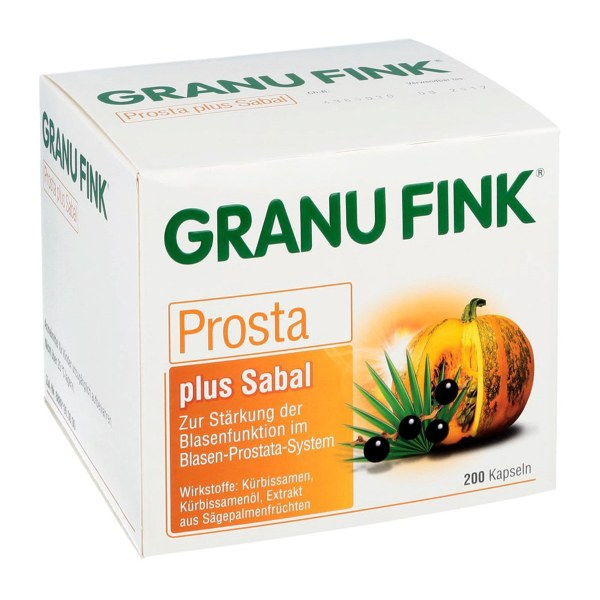德国Granu Fink南瓜籽油锯棕榈胶囊 男性前列腺 200粒