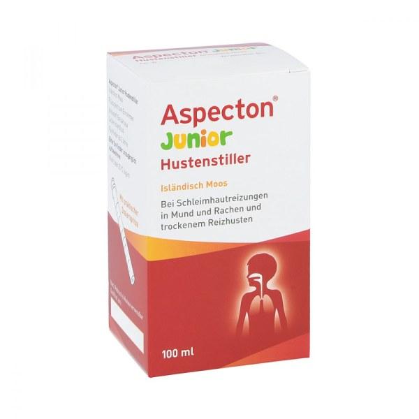 德国Aspecton宝宝苔藓汁缓解咽喉不适 咳嗽糖浆