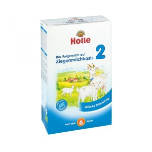 德国Holle 弘乐有机山羊配方奶粉 2段