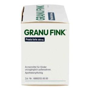 德国Granu Fink 南瓜籽软胶囊 男性尿频尿急 140粒