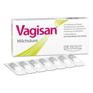 德国Vagisan 细菌阴道炎乳酸栓剂