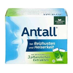 ANTALL 3种纯天然药草舒缓刺激性咳嗽药粉 20包X5克