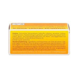 德国Hevert 维他命D3提高免疫力4000IE片剂