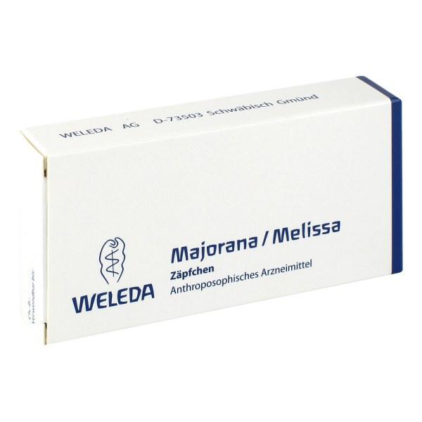 Majorana/melissa Suppositorien