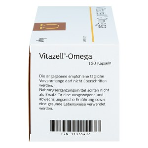 Vitazell-omega Kapseln