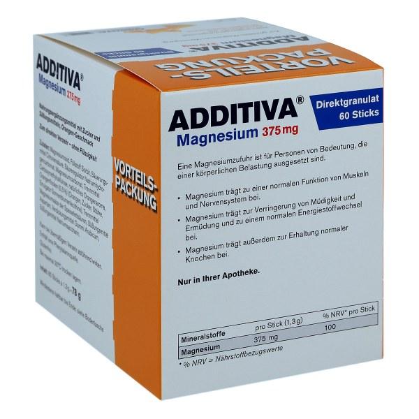 Additiva Magnesium 375 mg Sticks