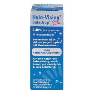 Hylo-vision Safedrop Gel Augentropfen