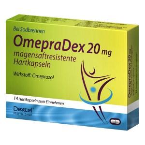 OmepraDex 20mg magensaftresistente Hartkapseln