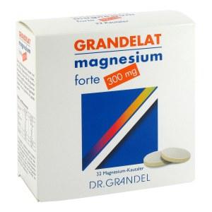 Magnesium Grandel 300 mg Kautabletten