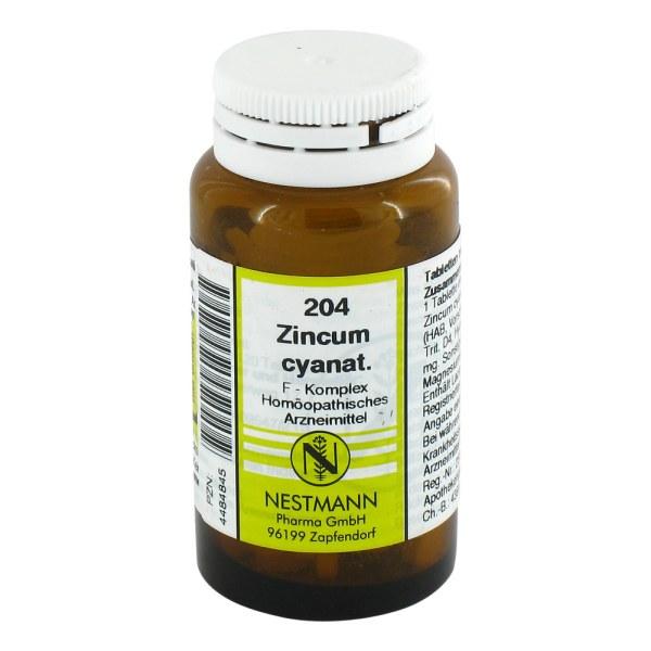 Zincum Cyanatum F Komplex Nummer 2 04 Tabletten