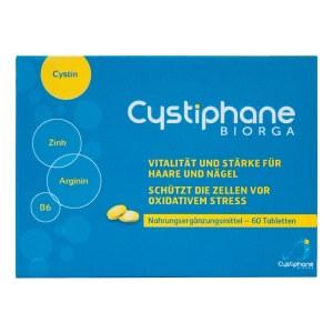 Cystiphane Biorga starke vitale Haare und Nägel Tab.