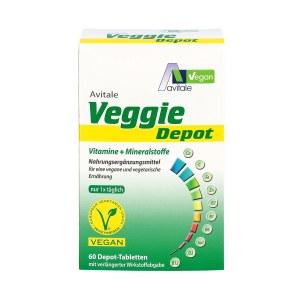 Veggie Depot Vitamine+mineralstoffe Tabletten