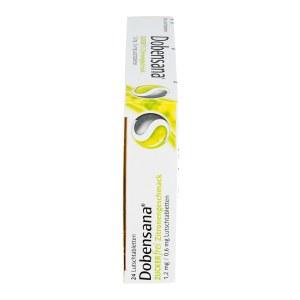 Dobensana Zuckerfrei Zitronengeschmack 1,2mg/0,6mg