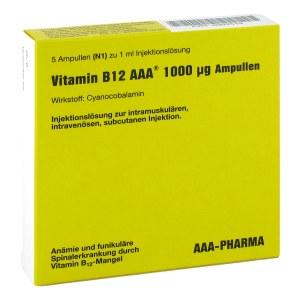 Vitamin B12 Aaa 1.000 [my]g Ampullen