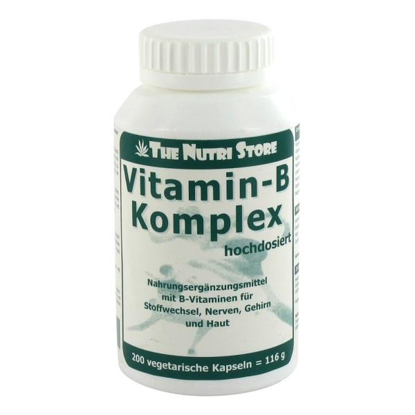 Vitamin B Komplex hochdosiert Kapseln