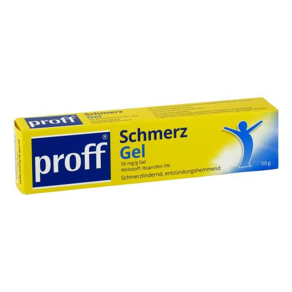 Proff Schmerzgel 50mg/g
