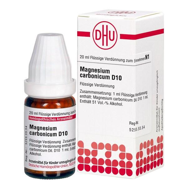 Magnesium Carbonicum D 10 Dilution