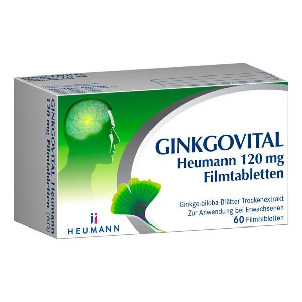 GINKGOVITAL Heumann 120mg