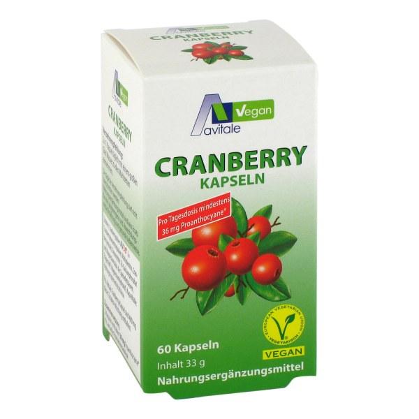 Cranberry Vegan Kapseln 400 mg