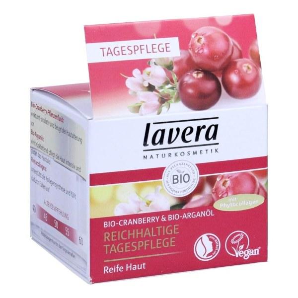 德国Lavera 拉薇有机蔓越莓摩洛哥坚果滋润日霜(50 ml)