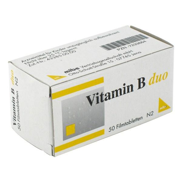 Vitamin B Duo Filmtabletten