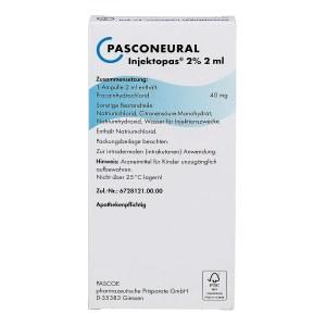 Pasconeural Injektopas 2% Ampullen 2 ml