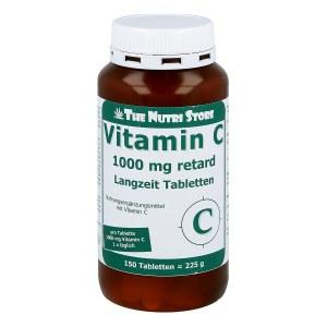 Vitamin C 1000 mg retard Langzeit Tabletten