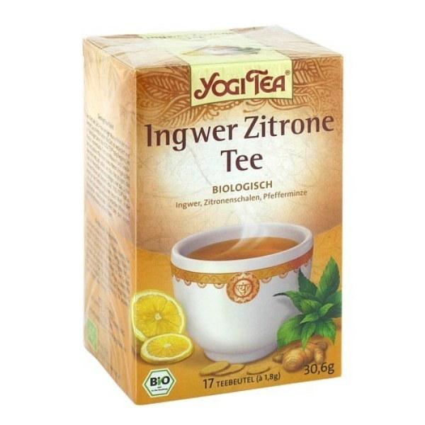 Yogi Tea Ingwer Zitrone Bio Filterbeutel