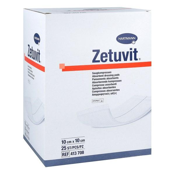 Zetuvit Saugkompresse steril 10x10 cm