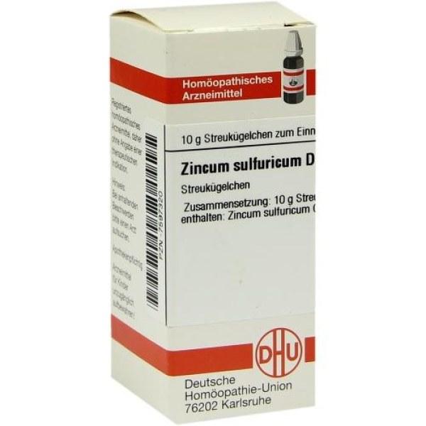 Zincum Sulfuricum D 4 Globuli