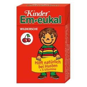 Em-Eukal 止咳润喉维生素儿童糖 40g(盒装/樱桃味)