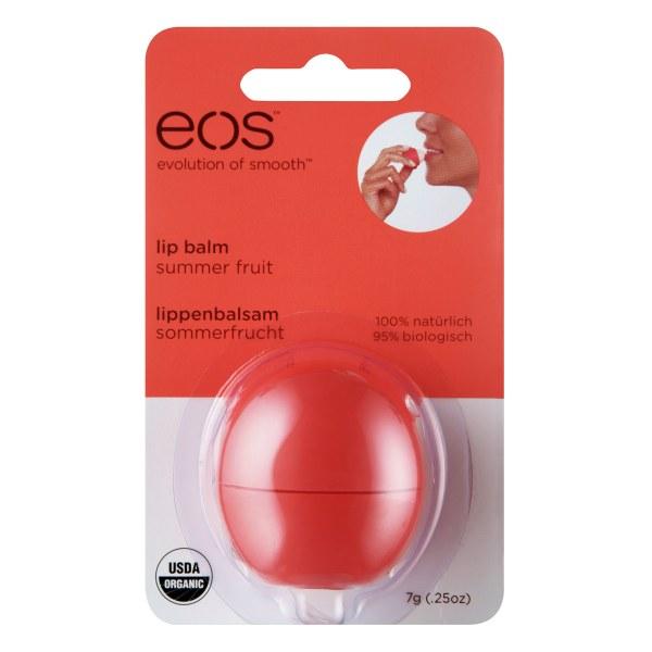 Eos Summer Fruit Organic Lip Balm Blister