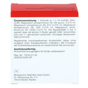 Magnesium Phosphoricum Injeel forte Ampullen