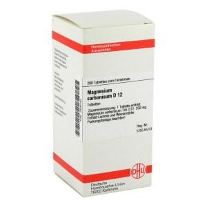 Magnesium Carbonicum D 12 Tabletten