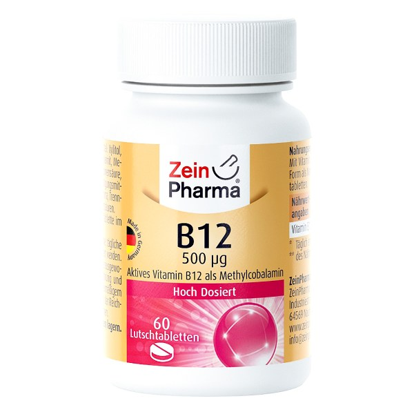 Vitamin B12 500 [my]g Methylcobalamin Lutschtablet