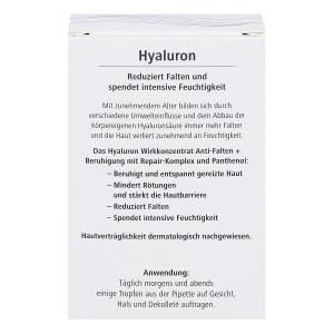 Hyaluron Wirkkonzentrat Anti-falten+beruhigung