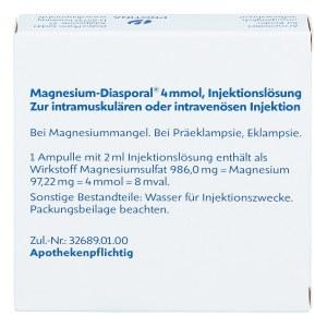 Magnesium Diasporal 4 mmol Ampullen