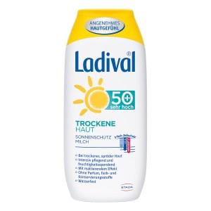 Ladival trockene Haut Milch Lsf 50+