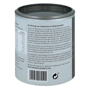 Moringa 100% Bio Pur Pulver