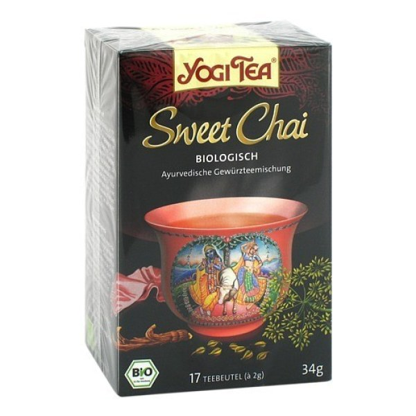 Yogi Tea Sweet Chai Bio Filterbeutel
