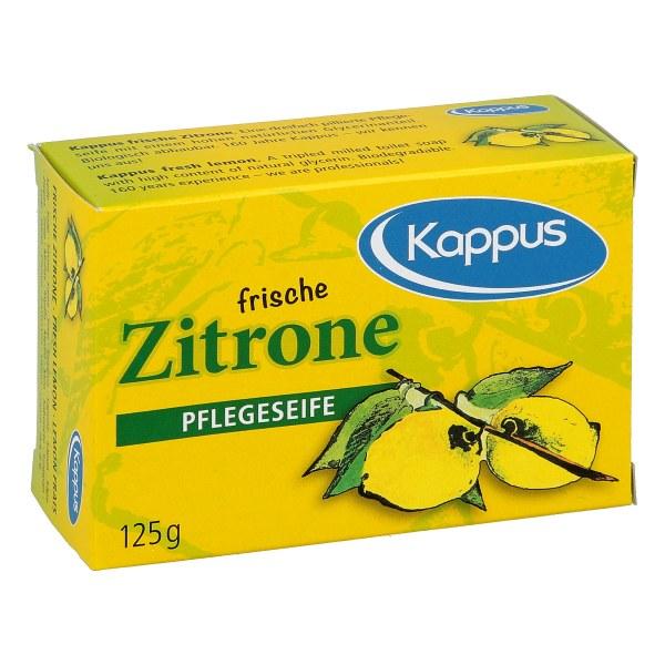 Kappus frische Zitrone Seife