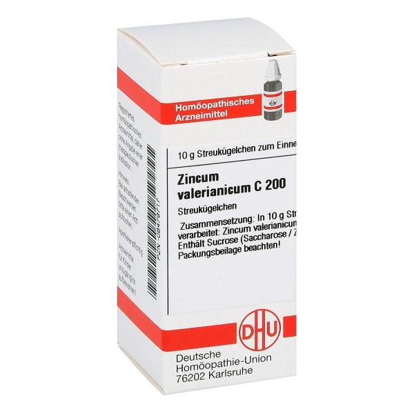 Zincum Valerianicum C 200 Globuli