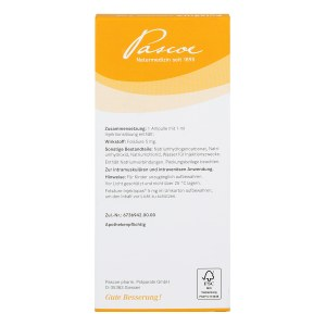 Folsäure Injektopas 5 mg Injektionslösung
