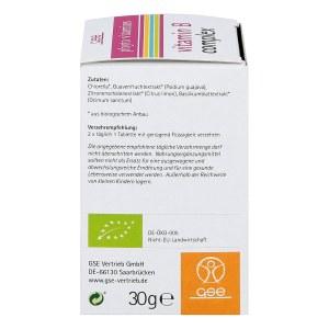 Vitamin B complex Bio Tabletten