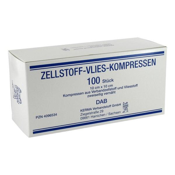 Zellstoff Vlies Kompressen 10x10cm unsteril