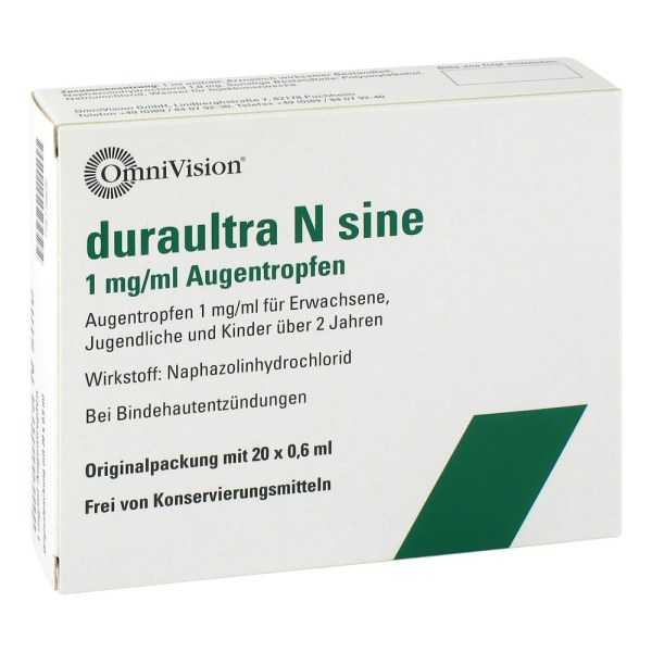 Duraultra N sine Augentropfen