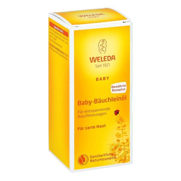 德国Weleda 维蕾德婴儿腹部按摩油 (50 ml)
