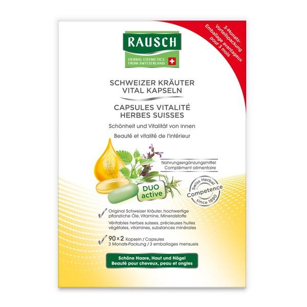 Rausch Schweizer Kr.vital Kapsel (n) 3 Monats Packung