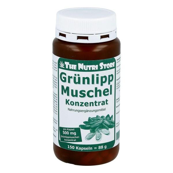 Grünlipp Muschel 500 mg Konzentrat Kapseln
